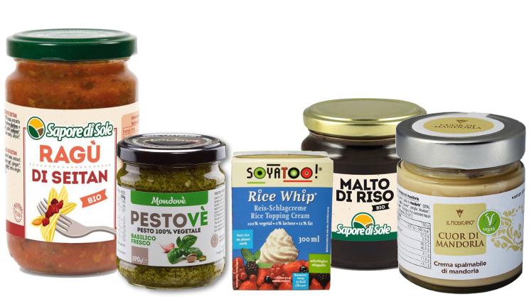Prodotti della cetegoria: alimenti vegan