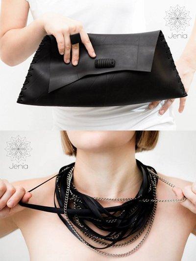 img Riuso creativo - Dalla camera d'aria agli accessori di moda