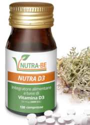Vitamina D3  2000 UI in compresse NUTRA-BE
