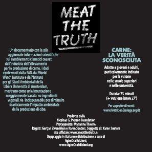 DVD - Meat the truth - Carne, la verita' sconosciuta