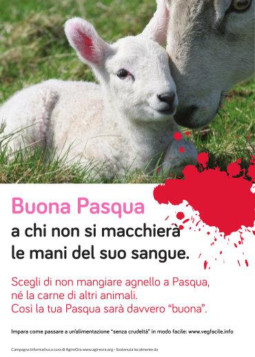 Manifesto 'Buona Pasqua' piccolo