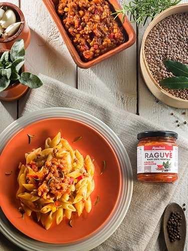 Raguvè - ragù di lenticchie - 290 g